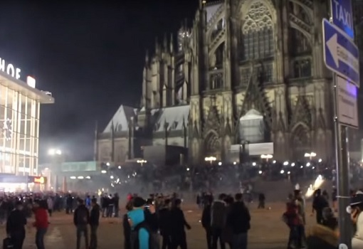 Germany Cologne Train Station - 1000 Arab Mobs Molest, Rape, Sexual Assault Women