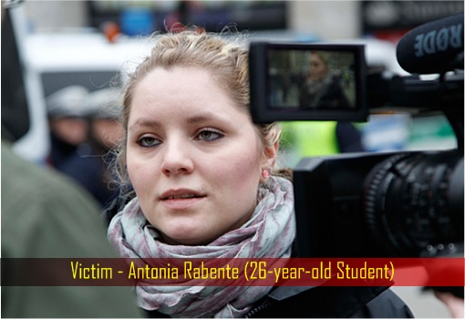 Germany Cologne Under Attack - Victim - Antonia Rabente - 26-year-old Student