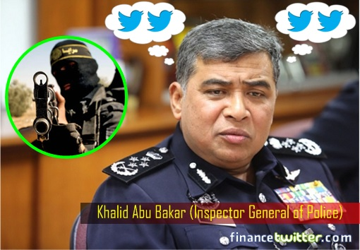 IGP Khalid Abu Bakar Thinking of Twitter - ISIS Attacks