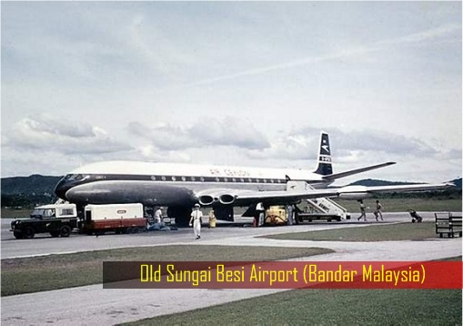 Old Sungai Besi Airport - Plan on Runway