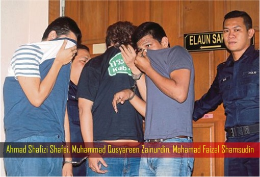Prima Setapak Condo Lift Robbery - Ahmad Shafizi Shafei, Muhammad Qusyareen Zainurdin, Mohamad Faizal Shamsudin