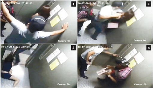 Prima Setapak Condo Lift Robbery - CCTV Sequence