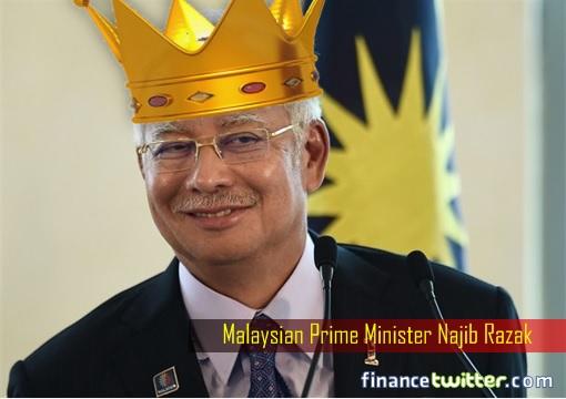 Prime Minister Najib Razak - Emperor Crown