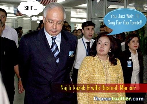 Rosmah Sing Song for Najib Razak Tonight