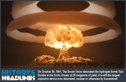 Russia Soviet Union Hydrogen Bomb - Tsar Bomba