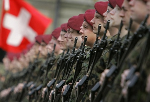 Swiss Army Soldiers