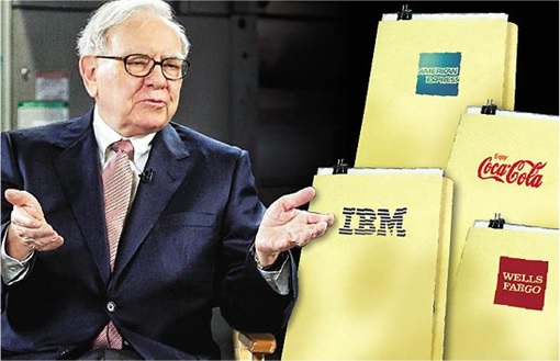 Berkshire Hathaway Big Four investments - American Express, Coca-Cola, IBM, and Wells Fargo