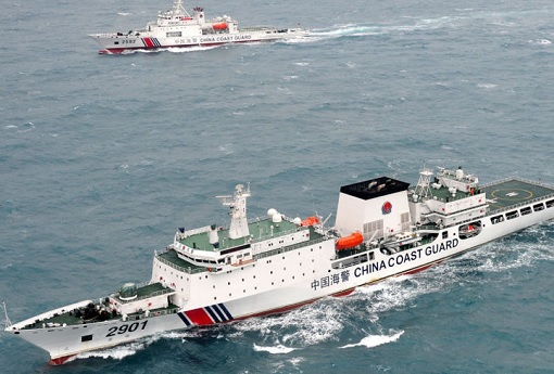 China Coast Guard Vessels