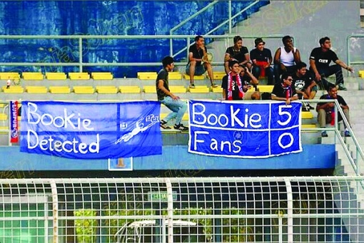 Football Match Fixing - Bookie Detected