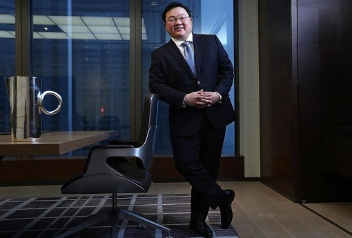 Jho Low - Posing in Office Standing
