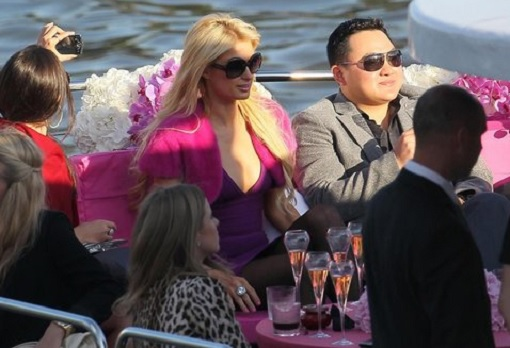 Jho Low and Paris Hilton - On Boat Together