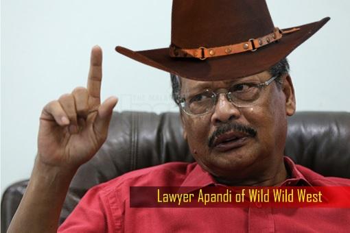 Lawyer Apandi of Wild Wild West