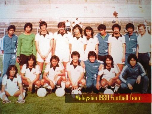 Malaysian 1980 Football Team