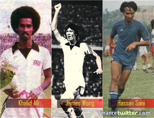 Malaysian Football - Khalid Ali - James Wong - Hassan Sani