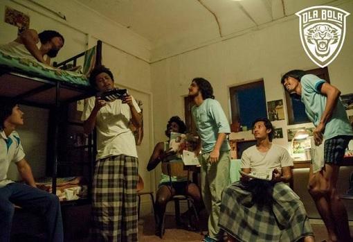 Ola Bola - Joking at Hostel