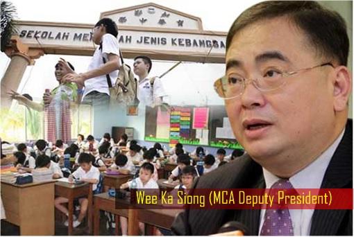 SJKC Vernacular Chinese School - Wee Ka Siong