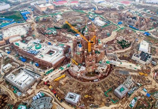Shanghai Disneyland - Construction Site