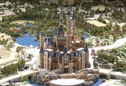 Shanghai Disneyland - Model Replica