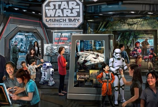 Shanghai Disneyland - Star Wars Launch Bay