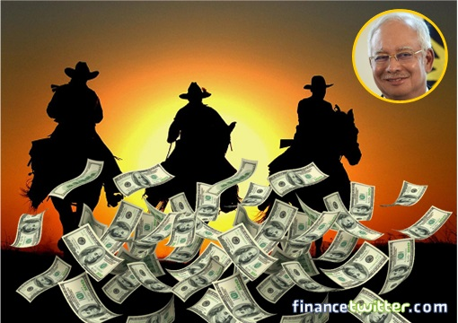 Sheriff Najib and Band of Bandits - Raining Money