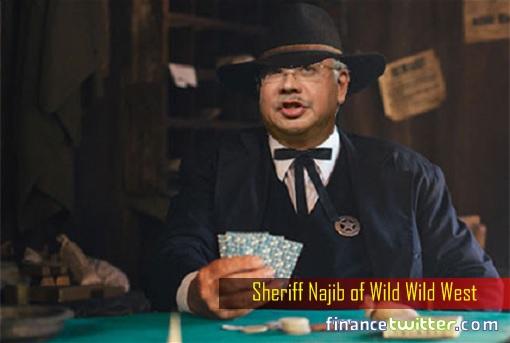 Sheriff Najib of Wild Wild West
