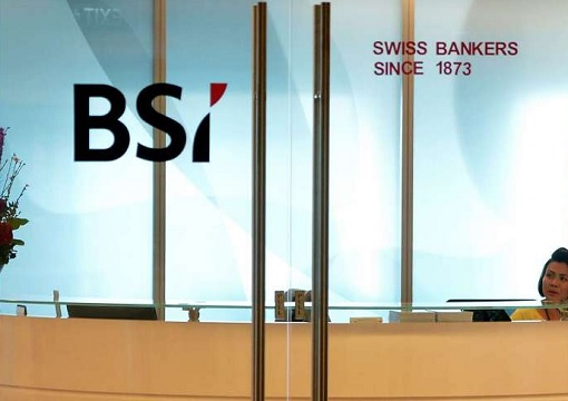 Swiss BSI Bank Singapore - Receptionist