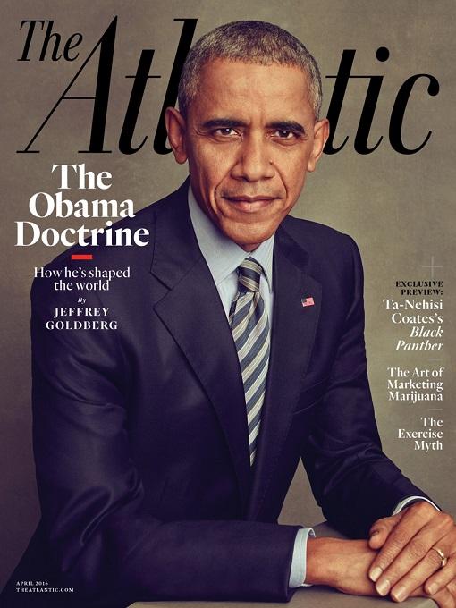 Atlantic Magazine - The Obama Doctrine - Cover