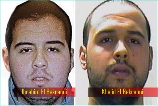 Belgium Brussels Attacks - Ibrahim El Bakraoui and brother Khalid