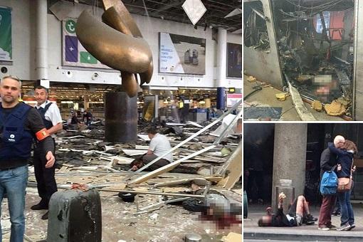 Belgium Brussels Terrorist Attacks - Airport Photo