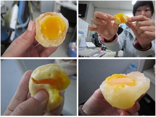 China Fake Eggs - Demonstration