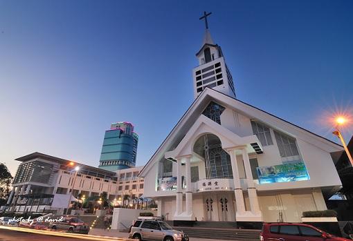 Church at Sibu Sarawak