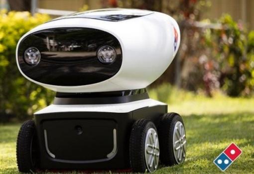 Domino Pizza Delivery Robot - Domino's Robotic Unit DRU