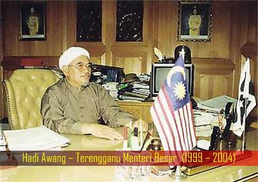Hadi Awang – Terengganu Menteri Besar - 1999 – 2004