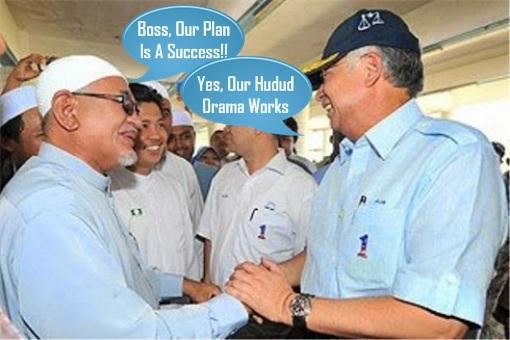 Hadi Awang and Najib Razak - Hudud Plan A Success