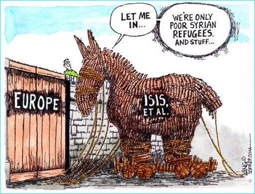 ISIS Infiltrate Europe as Trojan Horse Syrian Refugee