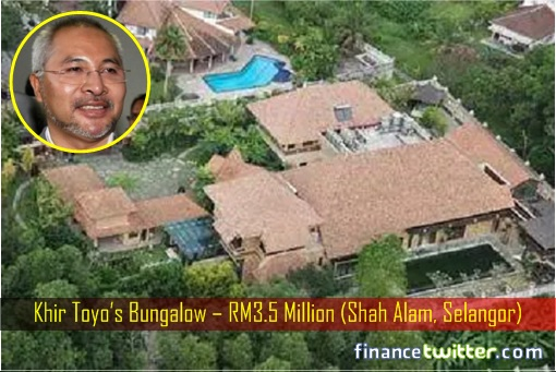 Khir Toyo's Bungalow – RM3.5 Million (Shah Alam, Selangor)