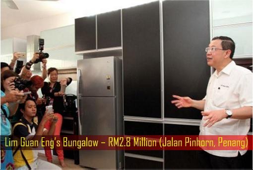 Lim Guan Eng Bungalow – RM2.8 Million (Jalan Pinhorn, Penang) - Interior