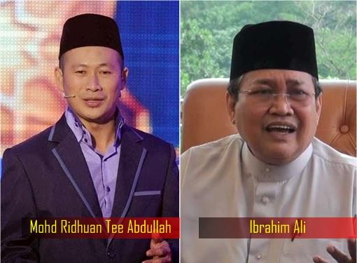 Mohd Ridhuan Tee Abdullah and Ibrahim Ali