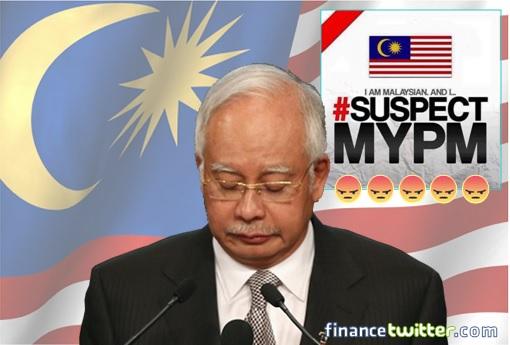 Najib Razak - SuspectMyPM - MalaysianFlag - Facebook Angry Emoji