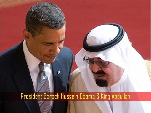 President Barack Hussein Obama and King Abdullah