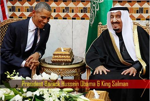 President Barack Hussein Obama and King Salman