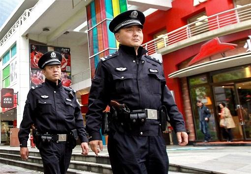 Shanghai public security bureau officers
