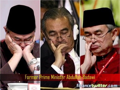 Abdullah Badawi - Sleeping on the Job