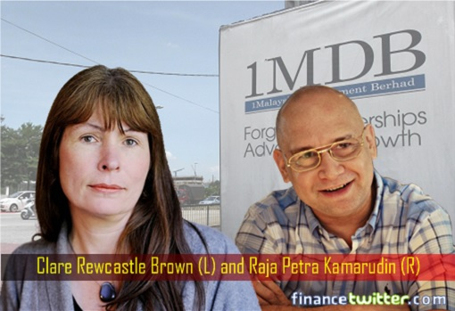 Clare Rewcastle Brown and Raja Petra Kamarudin - 1MDB background