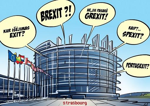 European Union Disintegrate - Brexit - Grexit - Spexit - Exit