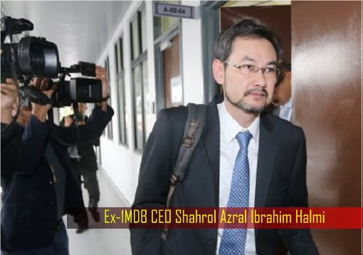 Ex-1MDB CEO Shahrol Azral Ibrahim Halmi - Walking Out Of Interview Room