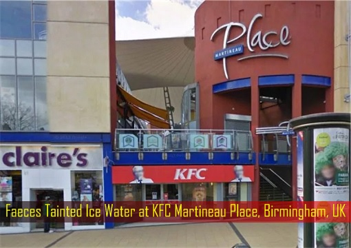 This KFC Restaurant's Ice Water Were Tainted With Faeces