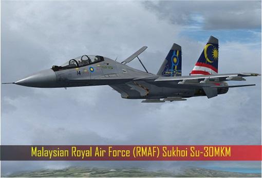 Malaysia RMAF Sukhoi Su-30MKM