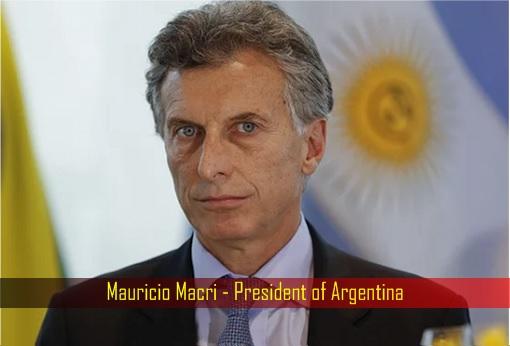 Mauricio Macri - President of Argentina