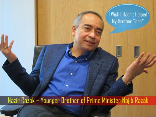 Nazir Razak – Wish Hadn't Helped Brother Najib Razak